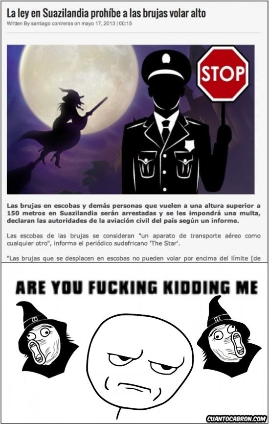 Kidding_me - Ni las propias brujas se lo pueden tomar en serio