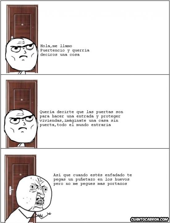 Y_u_no - Las puertas también tienen sentimientos