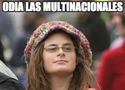 Enlace a Odia las multinacionales