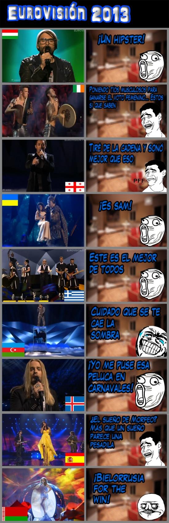 Mix - Resumen rápido de Eurovisión 2013