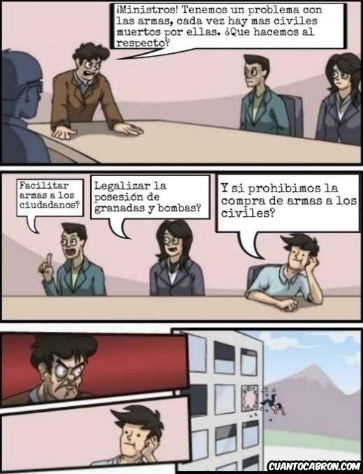 Otros - La reunión de ministros de EEUU sobre las armas