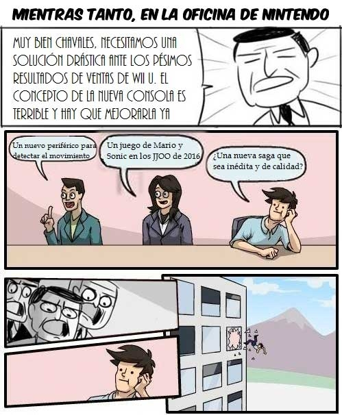 consolas,eso se come,Innovar,junta de accionistas,Nintendo