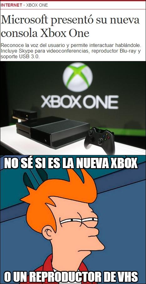 Fry - La nueva Xbox One