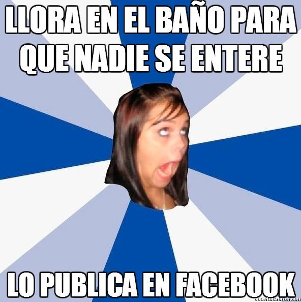 Amiga_facebook_molesta - Lo importante es que nadie se entere