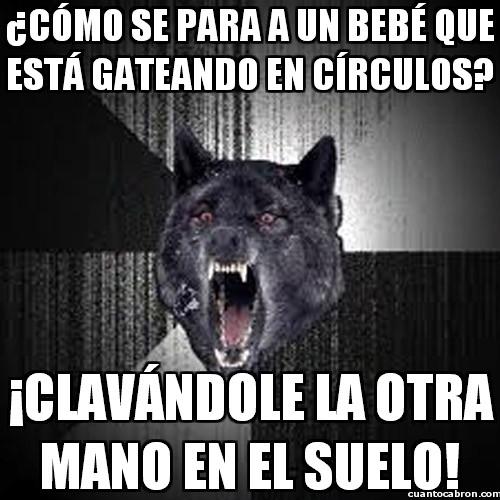 Lobo_demente - Tiene soluciones para todo este lobo