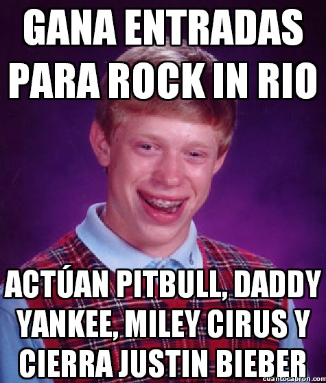 conciertos,daddy yankee,entradas,justin bieber,miley cirus,pitbull,rock in rio