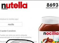 Enlace a No deberías dejar modificar tus etiquetas, Nutella, puede haber trolls cerca