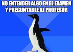 Enlace a No entender algo en el examen y preguntarle al profesor