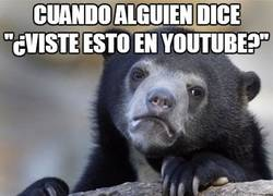 Enlace a ¿Lo viste en youtube?
