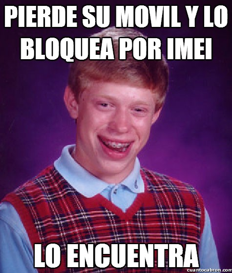 Bad_luck_brian - Si has de bloquear, asegúrate que realmente lo has perdido