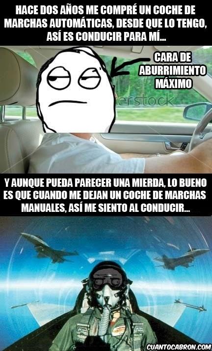 Me_gusta - Las diferencias entre conducir con marchas manuales y automáticas