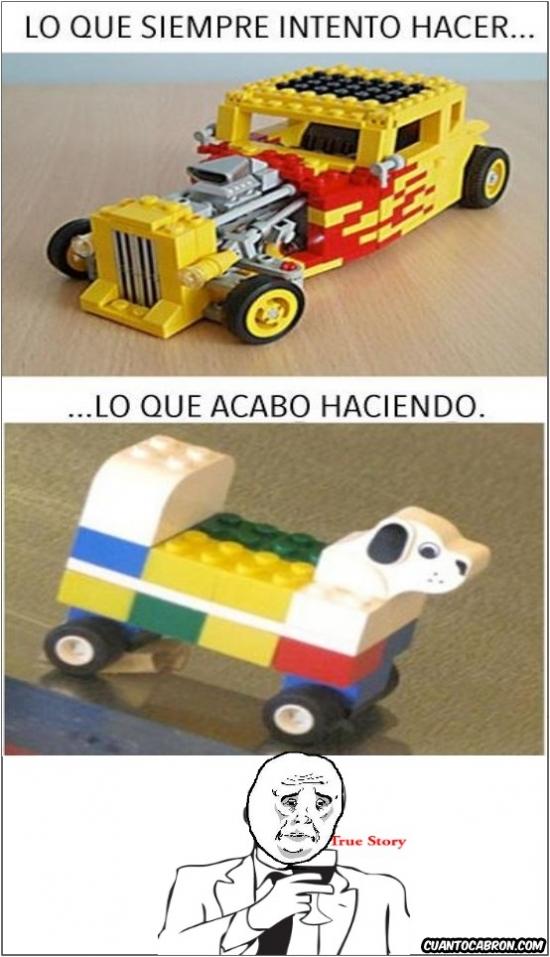 Okay - Lo que siempre intento hacer con los Legos