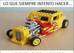 Enlace a Lo que siempre intento hacer con los Legos