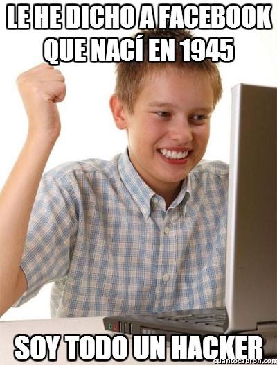 1945,facebook,fecha de nacimiento,hacker