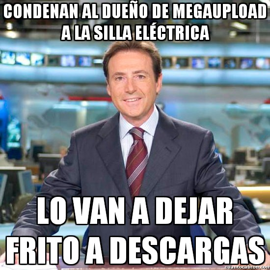 Meme_matias - Condenan al dueño de Megaupload