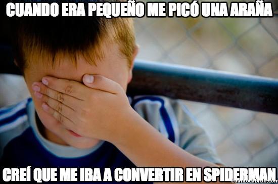 araña,infancia,pequeño,spiderman
