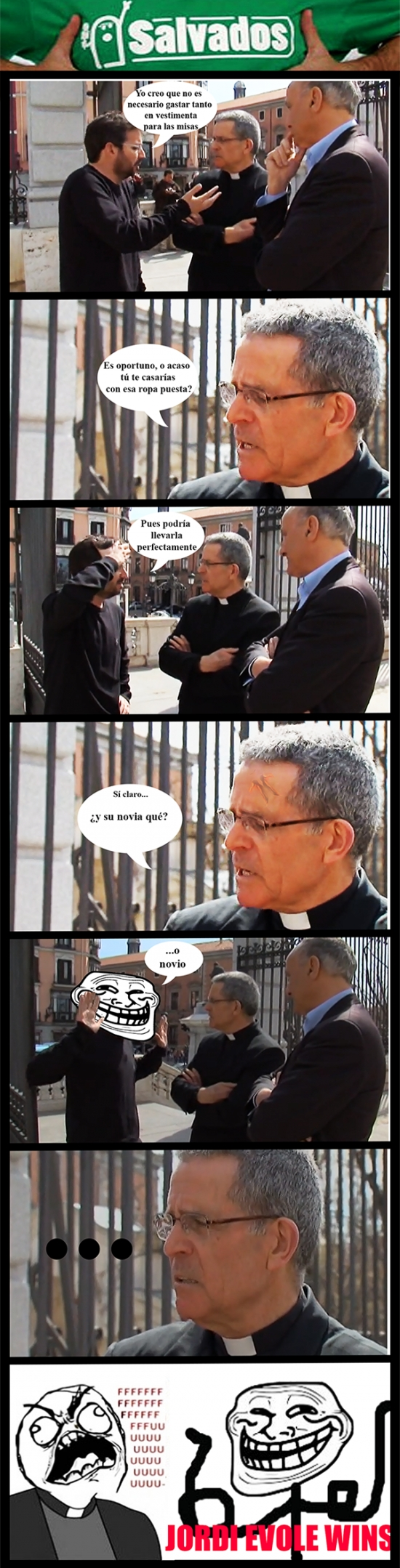 ffffuuuu,iglesia,Jordi Evole,salvados,troll