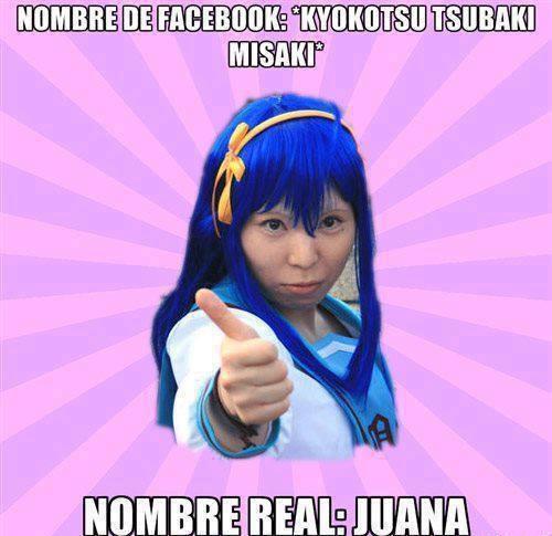 Meme_otros - La realidad de los nombres de la gente en Facebook