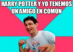 Enlace a Harry Potter y yo tenemos un amigo en común