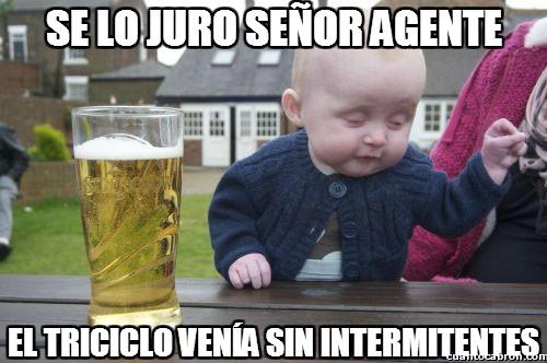 Bebe_borracho - Se lo juro señor agente