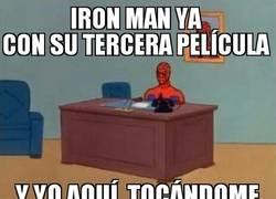 Enlace a Qué viciosillo es este Spiderman