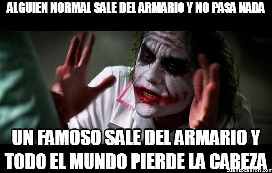 Joker - Alguien normal sale del armario y no pasa nada