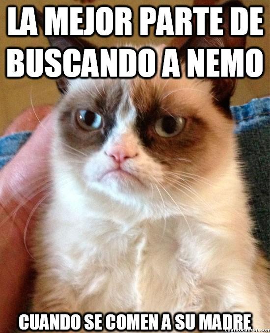 Grumpy_cat - La mejor parte de buscando a Nemo