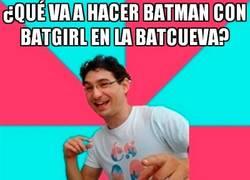 Enlace a Batman haciendo de las suyas