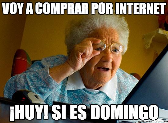Abuela_sorprendida_internet - Voy a comprar por internet
