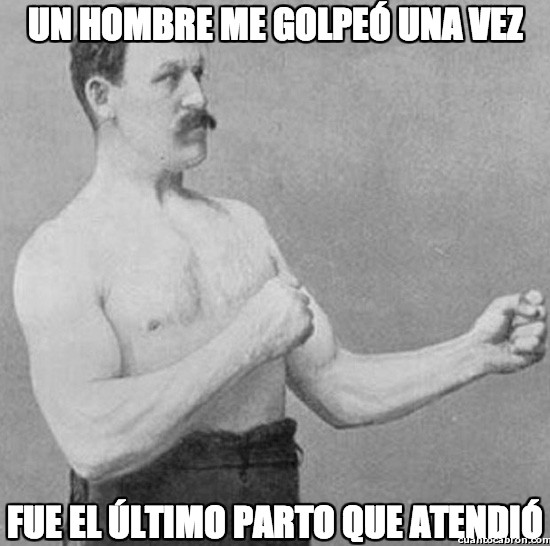 atender,golpear,medico,nacer,overly manly man,parto
