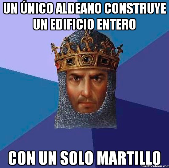 Age,construir edificio,crear,Empires,martillo,Of,solo