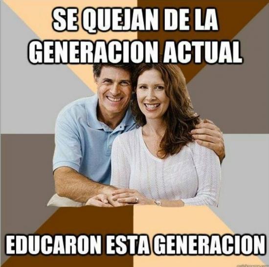 Meme_otros - La paradoja parental de esta generación