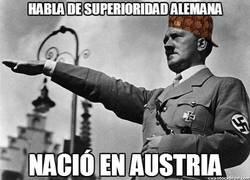 Enlace a Habla de superioridad alemana