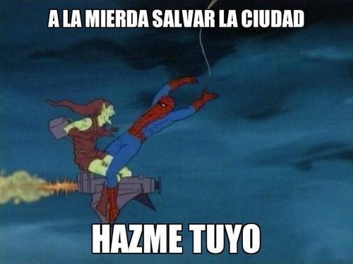 60,el duende verde,hazme tuyo,spiderman