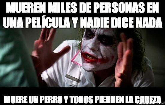 Joker - Mueren miles de personas en una película y nadie dice nada