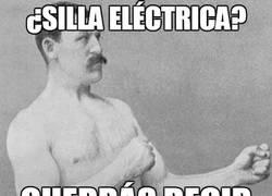 Enlace a ¿Silla eléctrica?