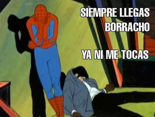 60,borracho,spiderman,tocar