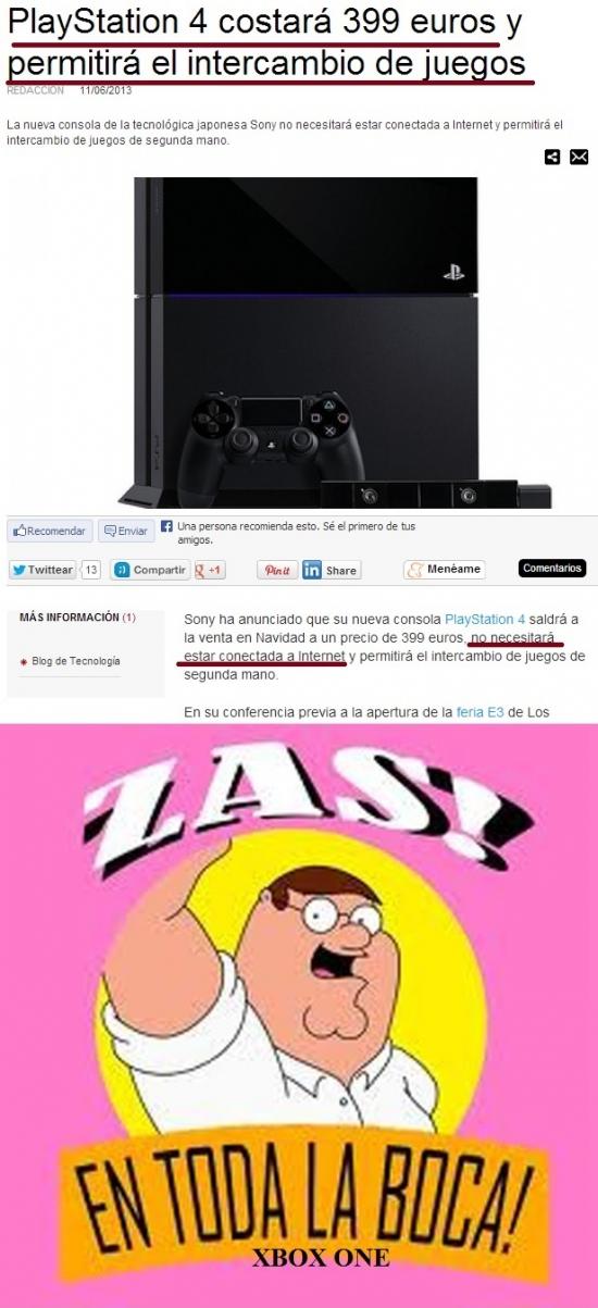 Otros - Bien jugado Sony, bien jugado
