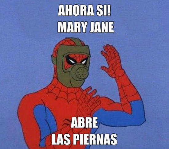 Spiderman60s - Los defectos de Mary Jane