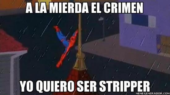 Spiderman60s - Y esta es su verdadera vocación...