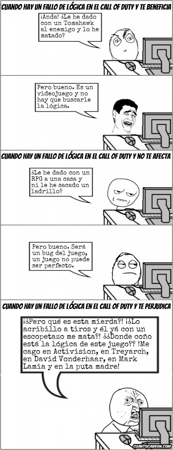 Y_u_no - Fallos de Lógica en el Call of Duty
