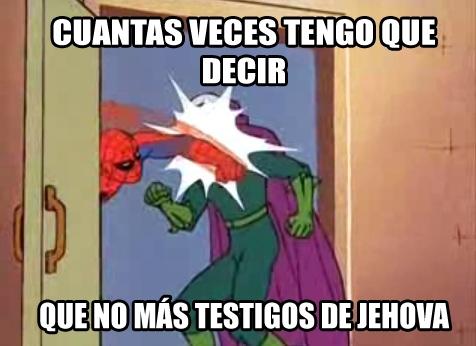 Spiderman60s - Es abrir la puerta y...