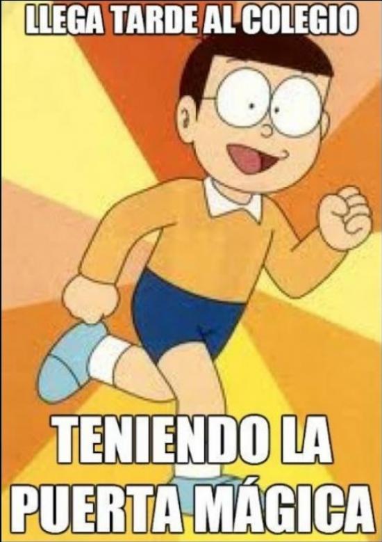 Meme_otros - Nobita, la peor persona que podia tener los inventos de Doraemon