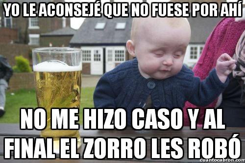 Bebe_borracho - Hay que escuchar más a los bebés borrachos