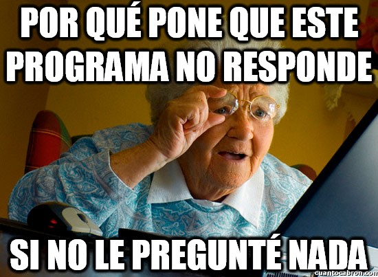 abuela sorprendida internet,preguntar,programa