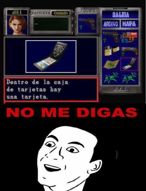 No_me_digas - Hasta en Resident Evil pasa