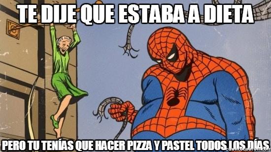 Spiderman60s - Te dije que estaba a dieta...