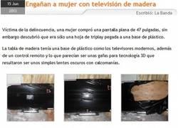 Enlace a Trollface y la venta de televisiones