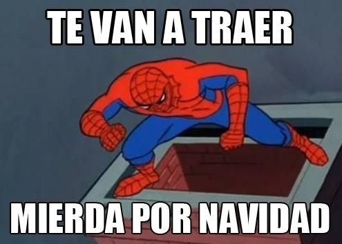 Spiderman60s - Santa Spiderman
