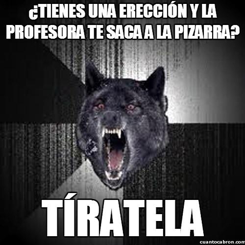 erección,lobo,profesora